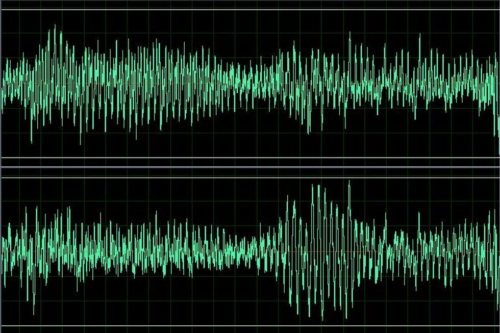 This Creepy Song Is Made Entirely Of Sounds Lost During The MP3 Compression Of A Pop Hit