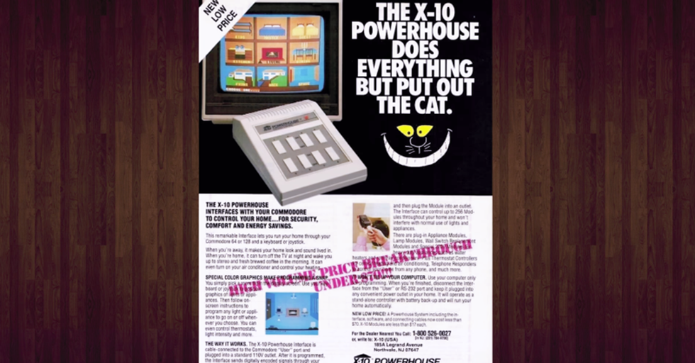 See How Clumsy A 'Smart Home' From The 1980s Looks In 2017 And Appreciate How Far We've Come
