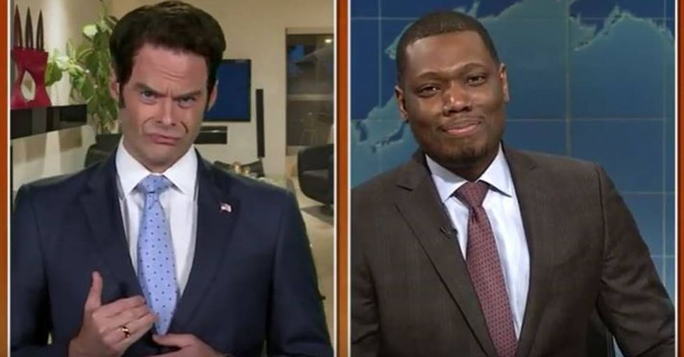Bill Hader's Scaramucci Impersonation Is Making Everyone Wish 'SNL' Wasn't On Hiatus