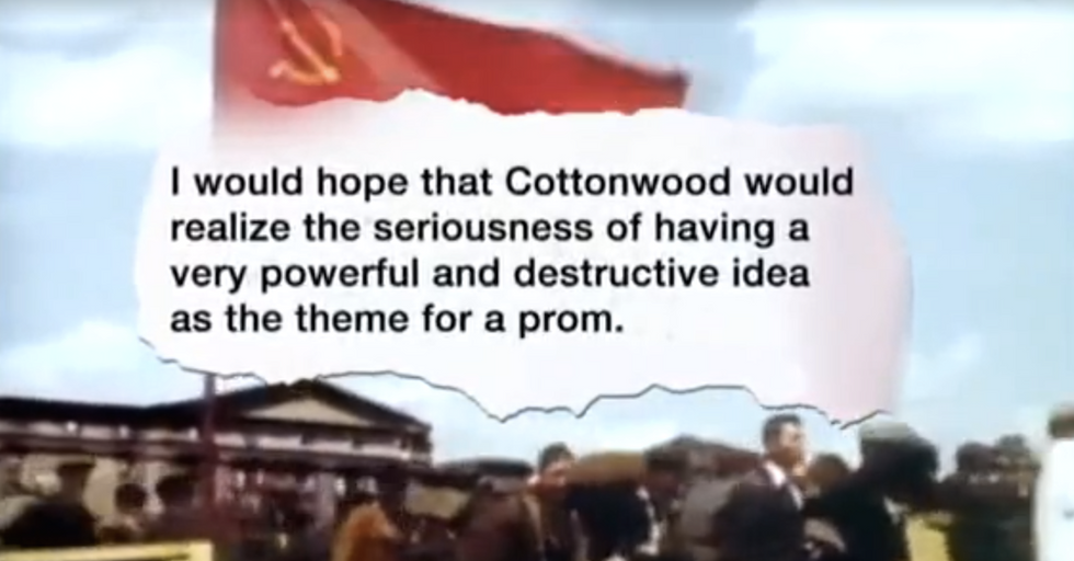 High School Teens Vote for Prom-munism