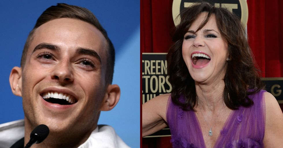 Adam Rippon Responds To Sally Field's Attempt To Hook Him Up With Her Son