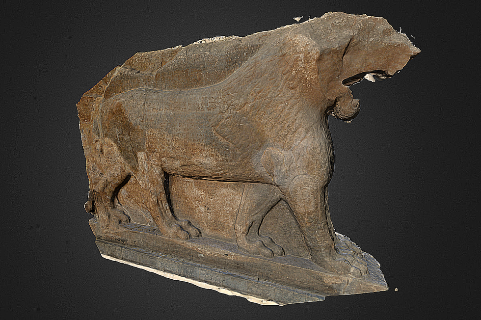 Digitally Reconstructing the Mosul Museum Destroyed by ISIS Fighters