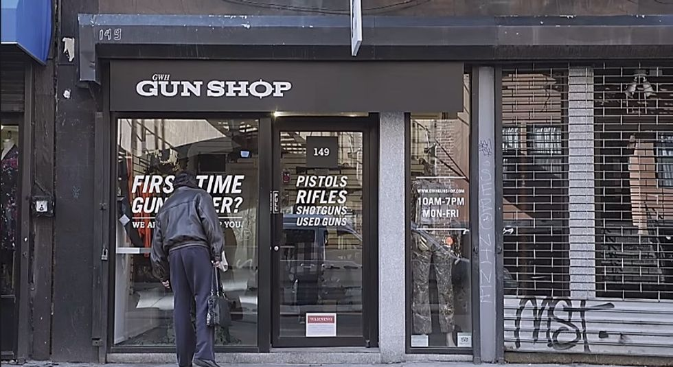 Unique Pop-Up Shop Shows First-Time Gun Buyers Their Weapon's Awful Past