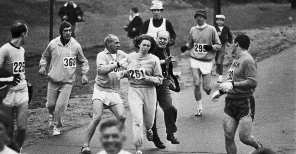 14 images of badass women who destroyed stereotypes and inspired future generations.
