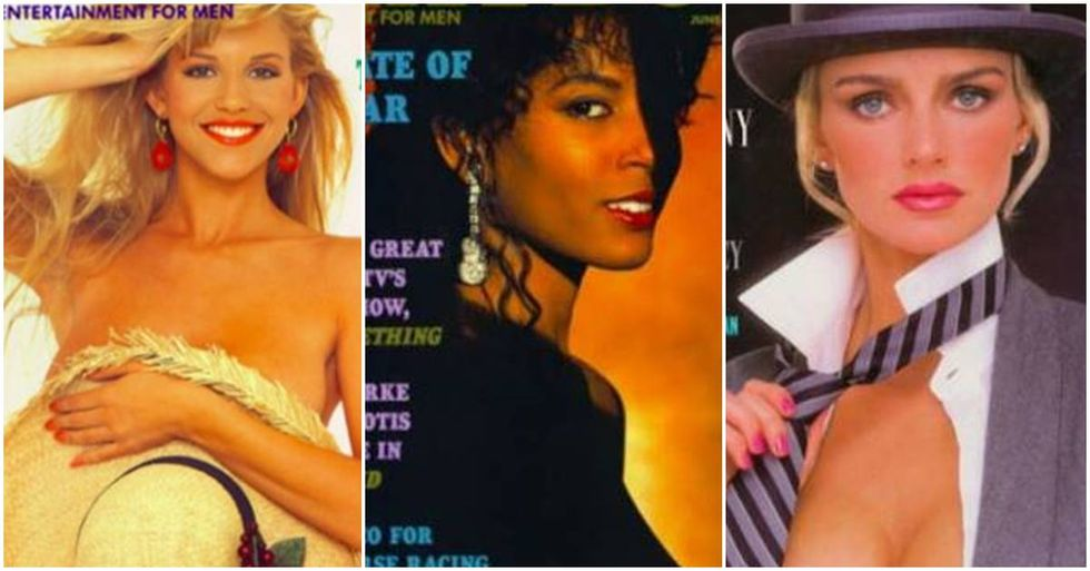 Seven Playboy Playmates Recreate Their Iconic Cover Shots