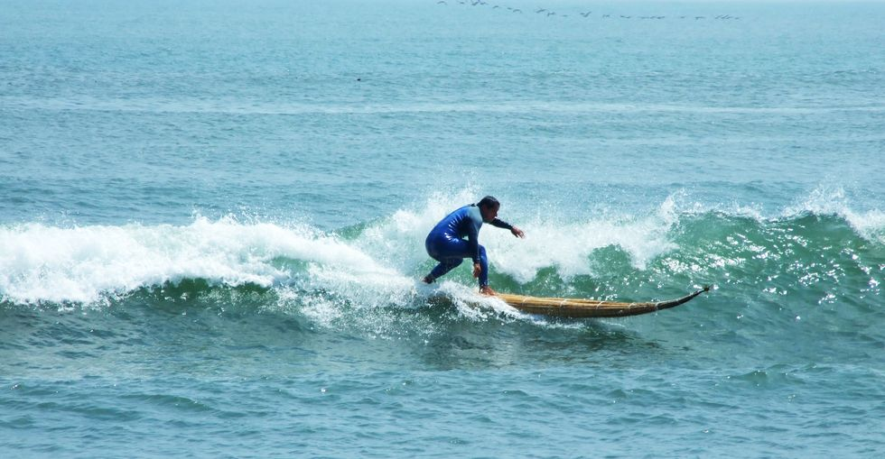 The Last of the Moche Wave Riders