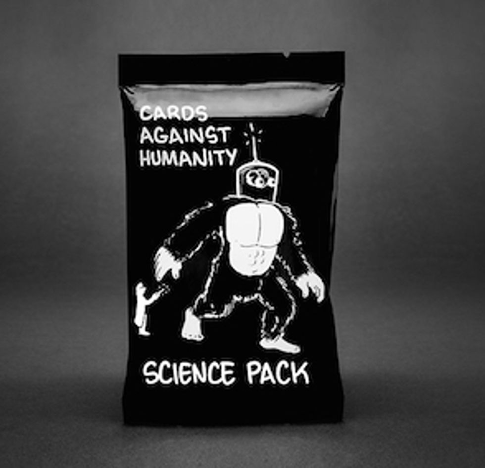 Cards Against Humanity Science Expansion Pack to Provide Women With STEM Scholarship