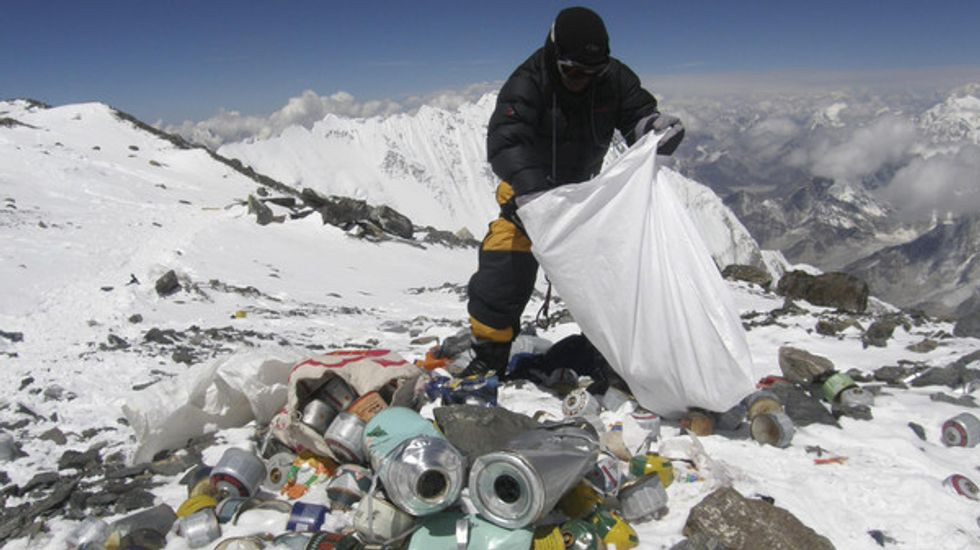 """Cleaning Up """"The World's Highest Junkyard"""""""