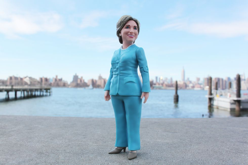 Hillary Clinton Action Figure Inflames Internet Nutjob Brigade