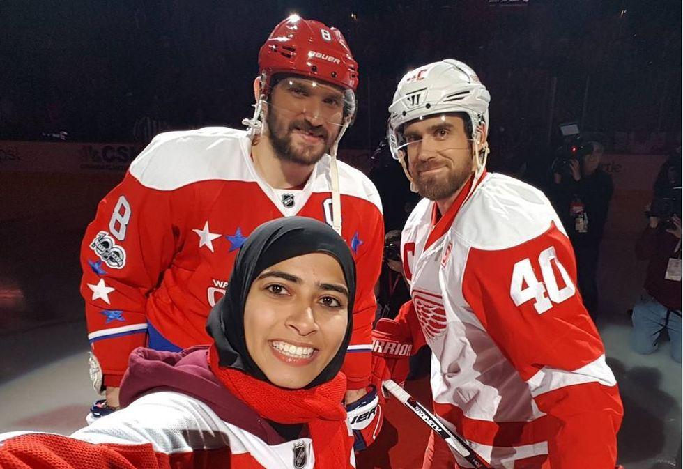 Hockey Scores Big
