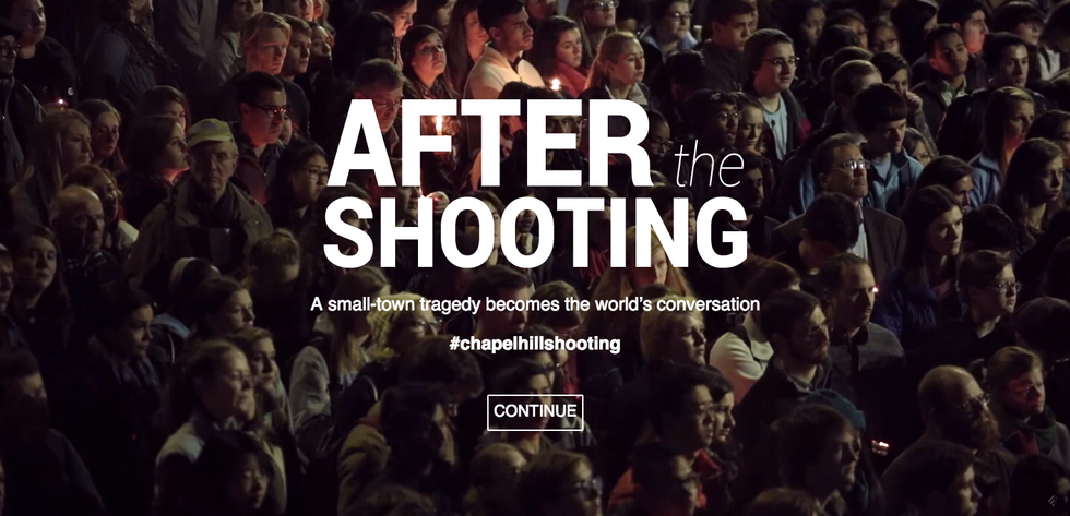 An Interactive Project Explores What Happened After the Chapel Hill Shooting