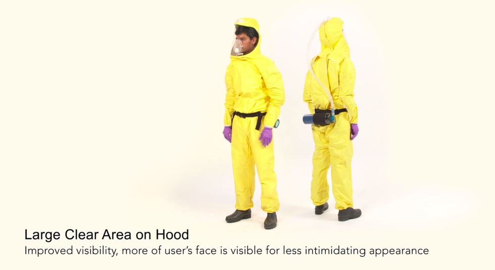 Doctors, Engineers, and a Wedding Dress Maker Design a Better Ebola-Proof Suit