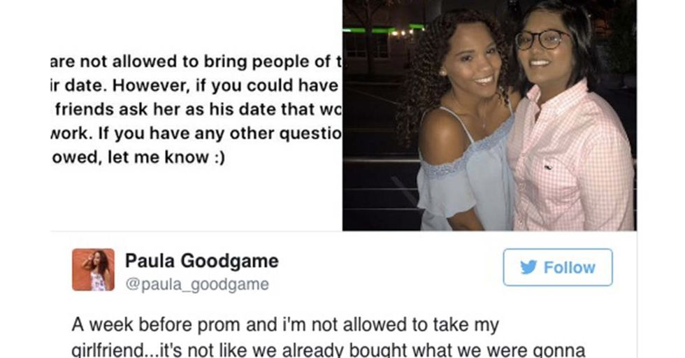 A Catholic School Banned A Lesbian Couple From Prom And Their Suggested Alternative Has People Furious