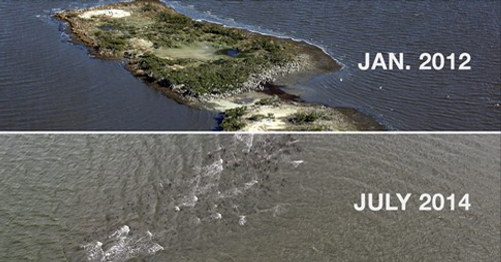 Why Has This Island Been Disintegrating?