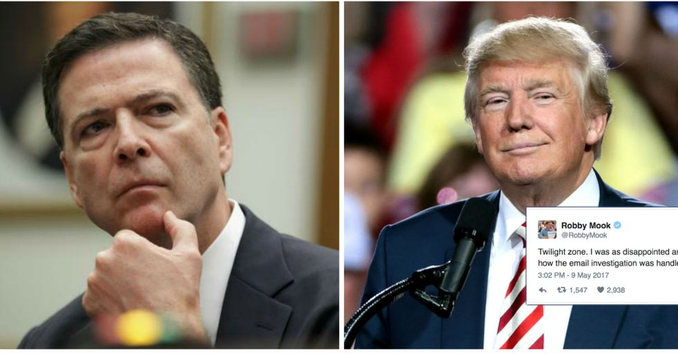 Democrats Say Comey Firing Is A Russia Cover Up