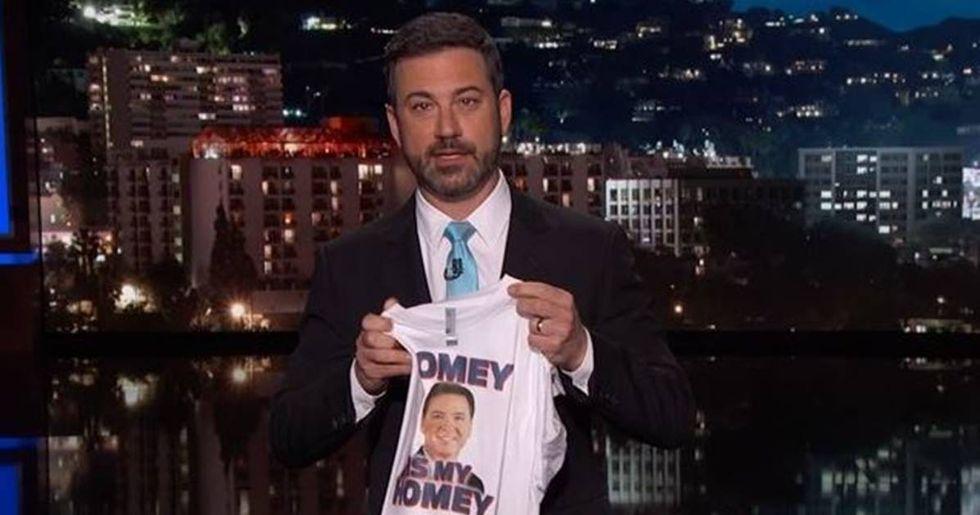 Jimmy Kimmel Calls President Trump 'A Dictator'