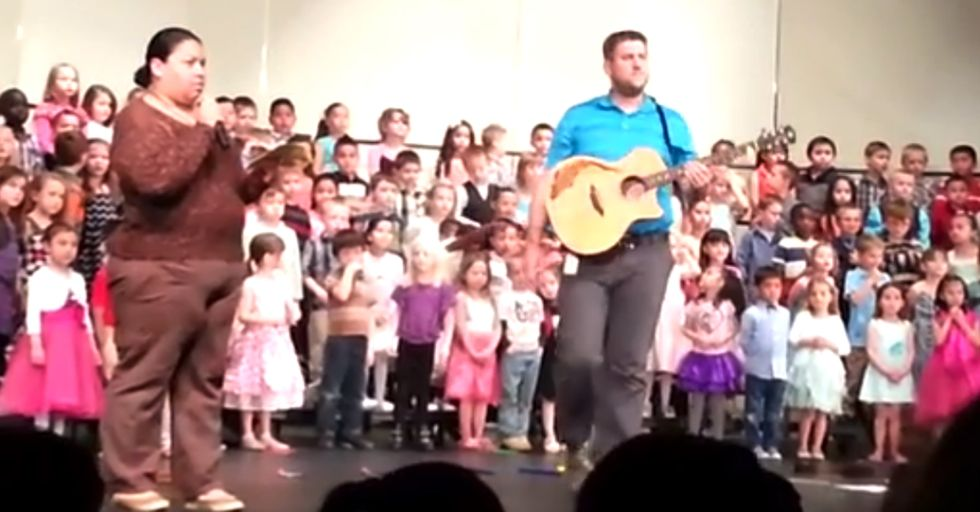 Here's How To Get Thrown Out of a Kindergarten Concert