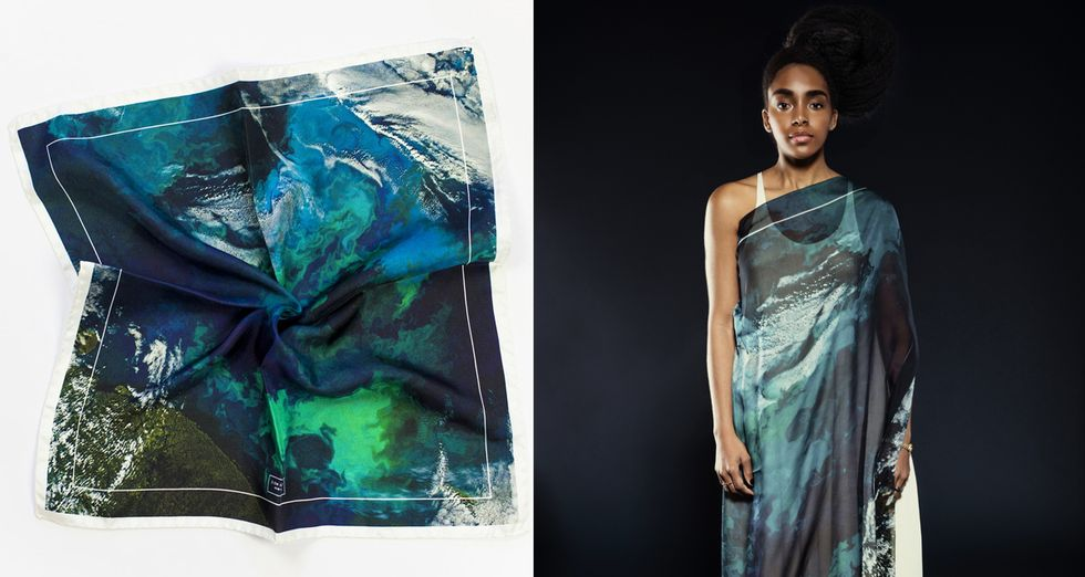 Sustainable Fashion Brand Is Saving The Earth, One Scarf At a Time