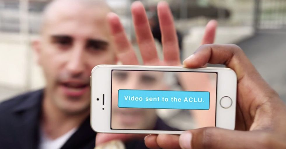 The Mobile Justice App Records and Reports Police Encounters