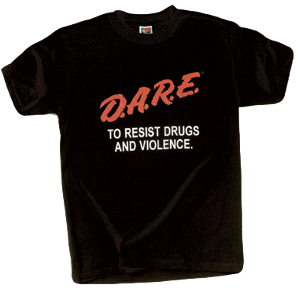 D.A.R.E. Falls for Ridiculous Fake Story on the Dangers of Pot