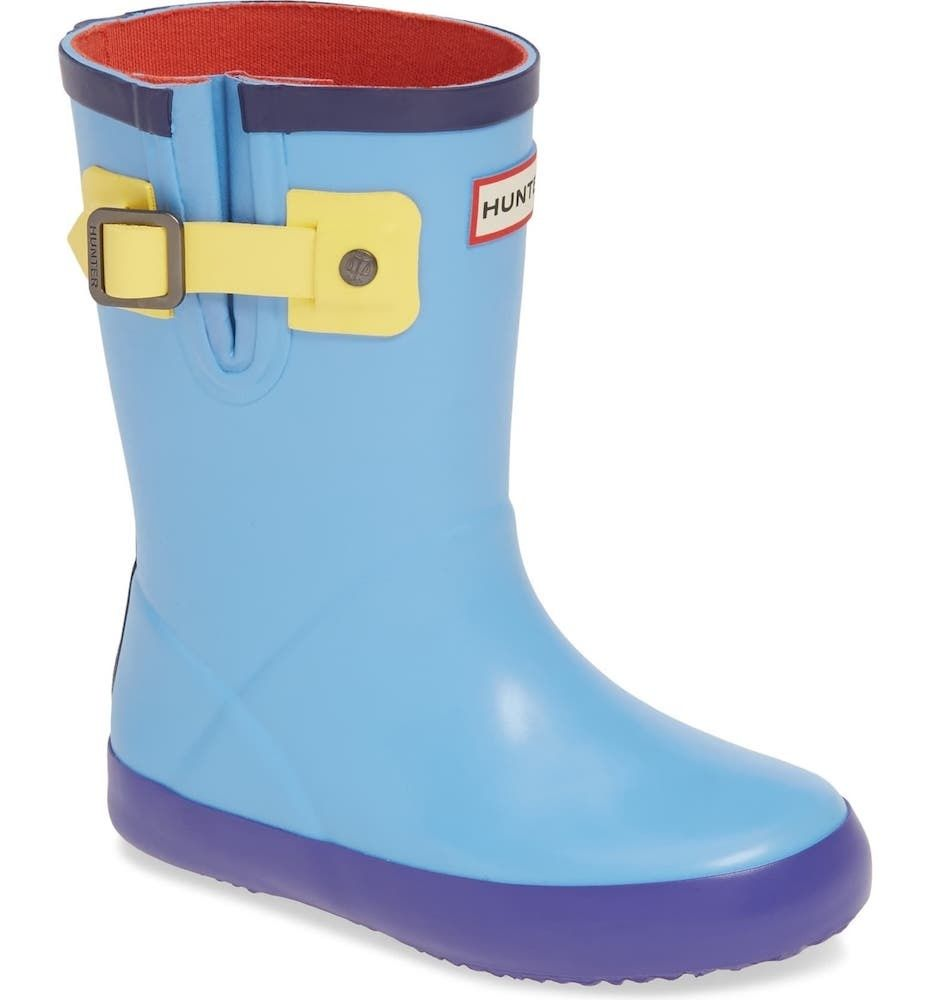 Hunter Buckle Strap Waterproof Rain Boot
