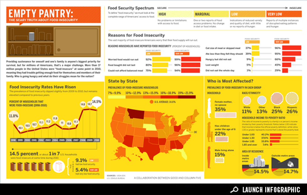 Infographic: The State of Food Insecurity