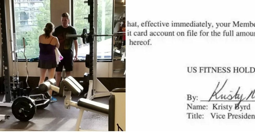 Women Masterfully Shames Notorious White Nationalist At The Gym