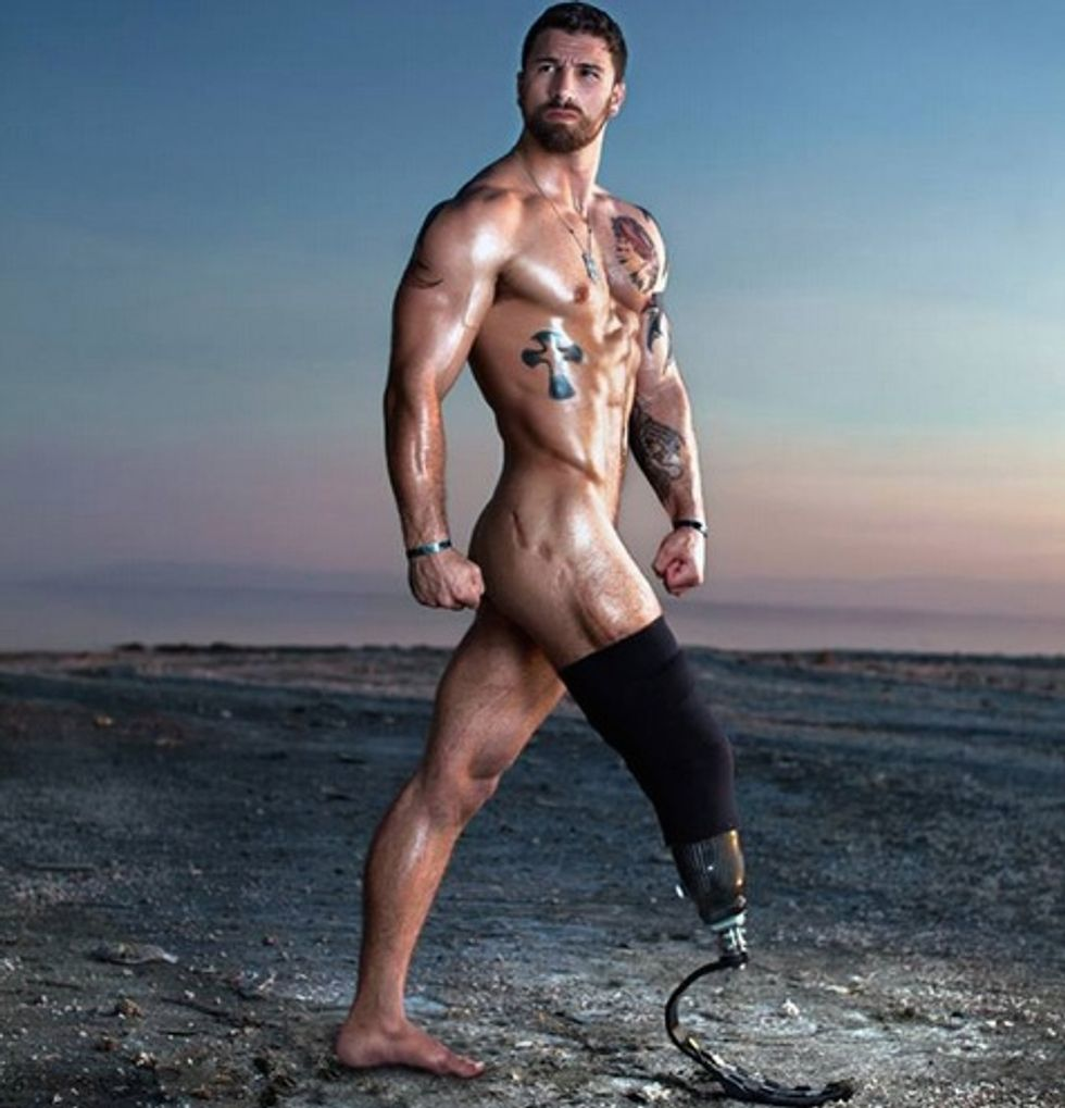 Groundbreaking Photo Series Showcases Wounded Veterans' Beauty