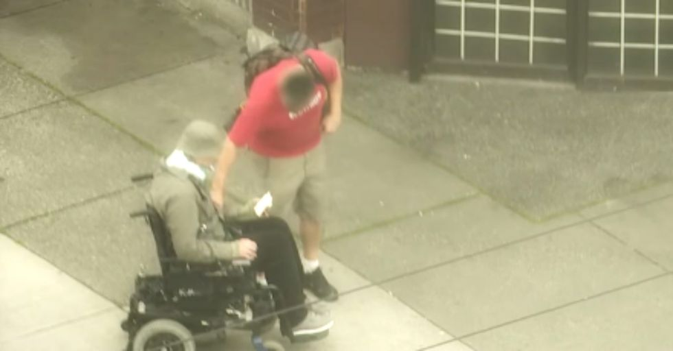 Cop Goes Undercover in a Wheelchair and Learns a Lesson in Humanity