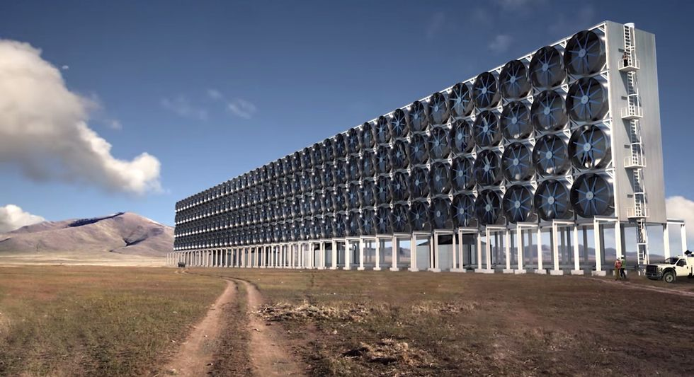 Meet the Mega-Structure That Sucks CO2 Emissions Out of Thin Air