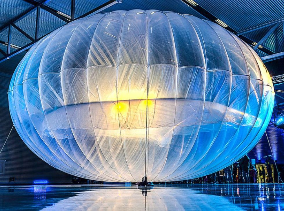 The Entire Country of Sri Lanka is About to Get Balloon-Based Internet, Thanks to Google