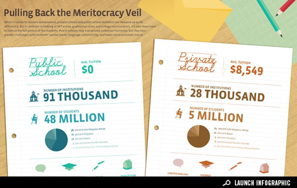 Infographic: Pulling Back the Meritocracy Veil