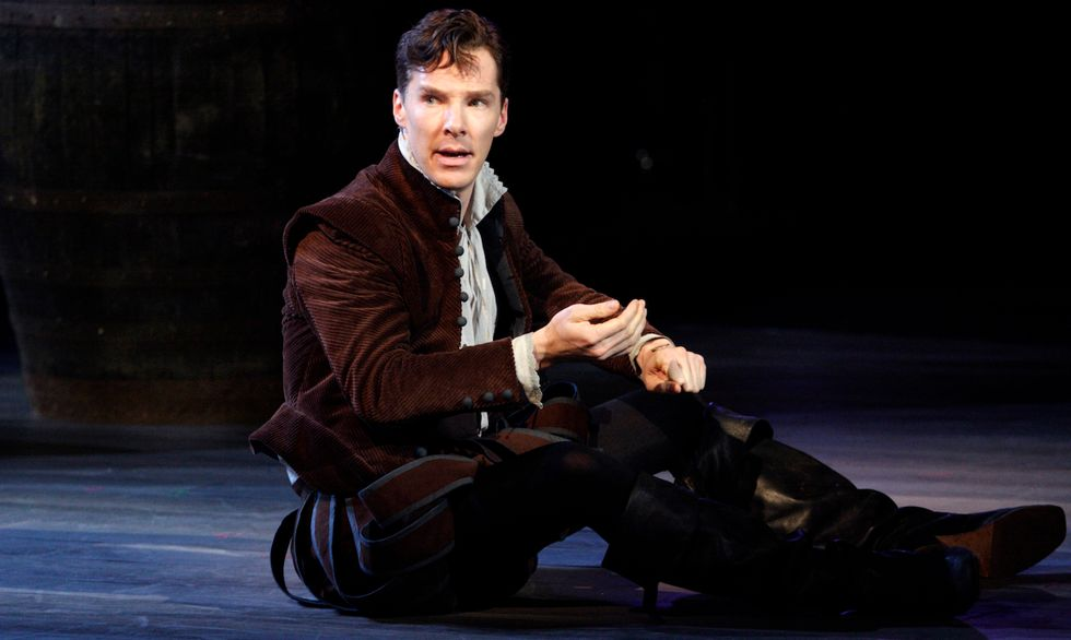 Benedict Cumberbatch Wants You to Put Your Phone Away and Enjoy His Art