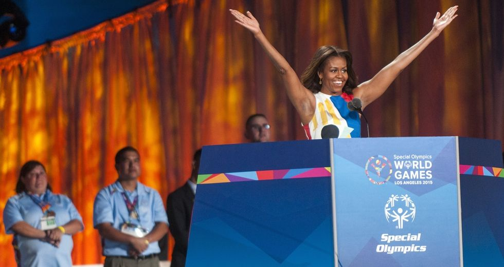 Michelle Obama Opens the 2015 Special Olympics, Reminds Us She's Awesome