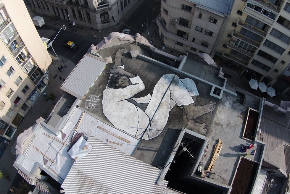 Hidden on Rooftops Around the World, These Sleeping Giants Encourage Us to See Our Cities From a New Perspective