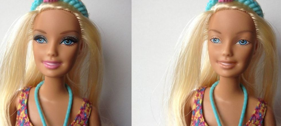 Artist Removes Barbie's Makeup to Challenge Doll Manufacturers