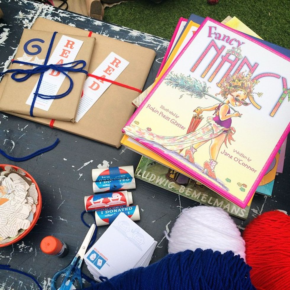 "Milk + Bookies Spreads The Love Of Reading Through ""Book-raising"" Parties"