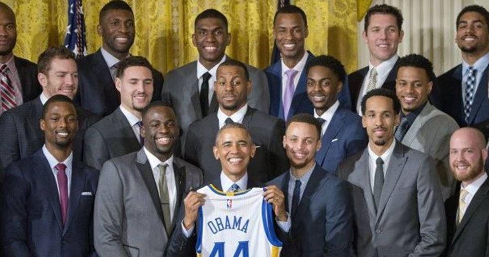 CNBC Analyst: 'Warriors Skipping White House Visit'