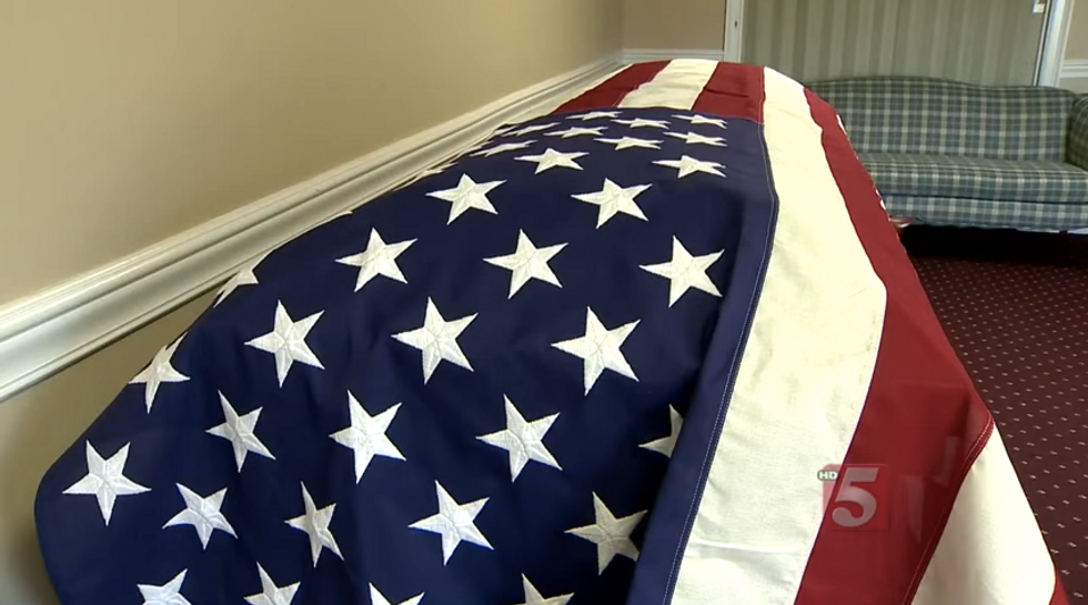 Why Hundreds of Strangers Attended a Tennessee Veteran's Funeral