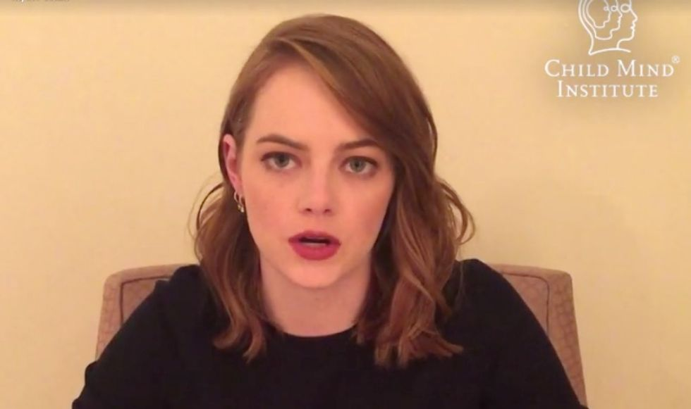 Emma Stone Speaks Out In A New Video About Her Lifelong Fight Against Anxiety