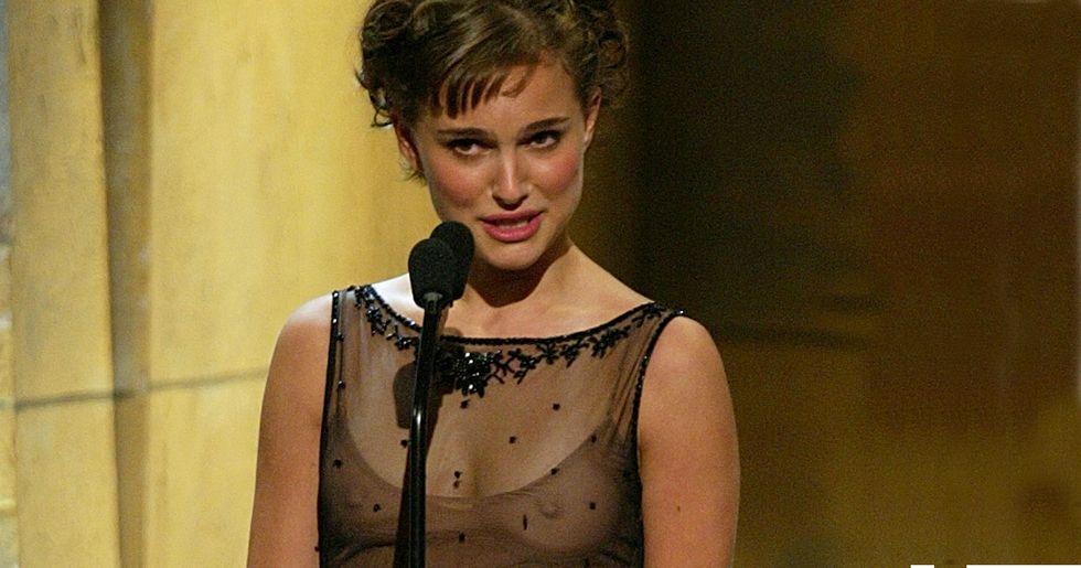 Natalie Portman has some choice words for men who label women 'crazy.'