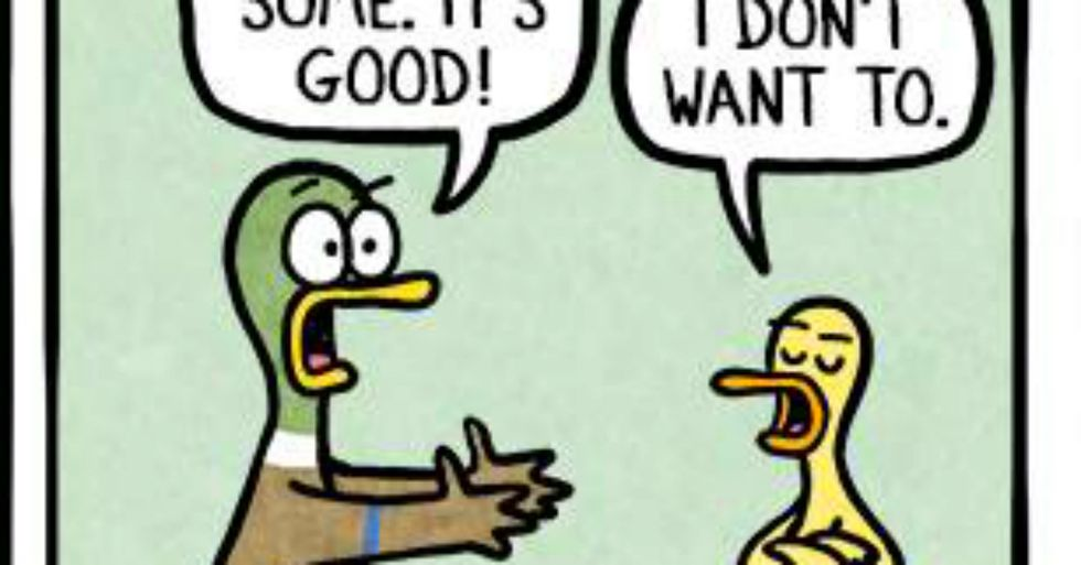 These 10 Hilarious Comics Totally Nail What It's Like to be a Parent