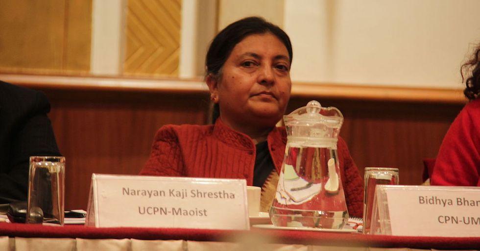 Meet Nepal's Groundbreaking New President