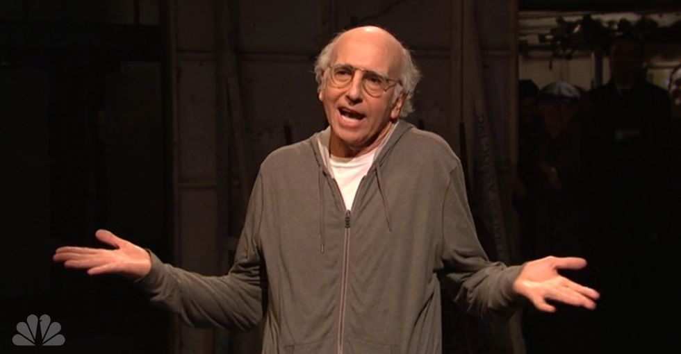 "Larry David Won $5K Bounty for Calling Donald Trump a ""Racist"" on SNL"