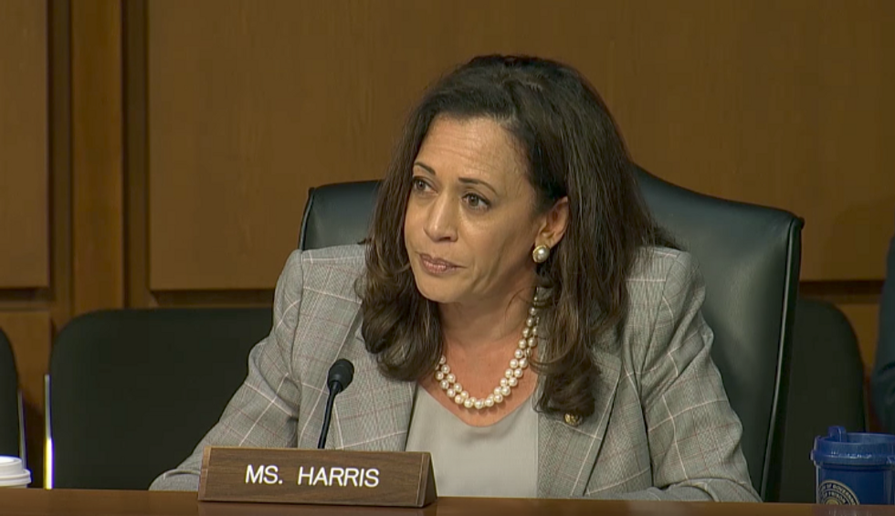 Kamala Harris Made Jeff Sessions Nervous. That's Not Why She Keeps Being Interrupted