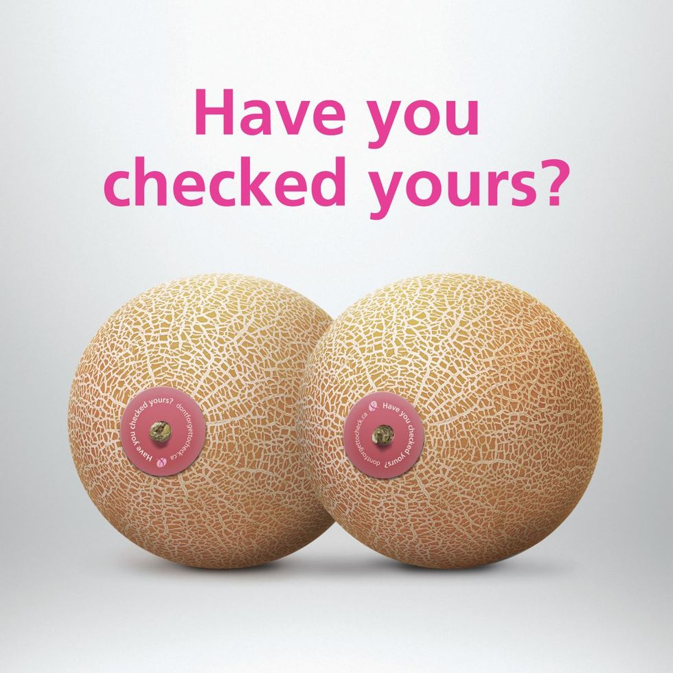 This Supermarket Chain Turns Melons Into Mammaries to Promote Breast Cancer Awareness