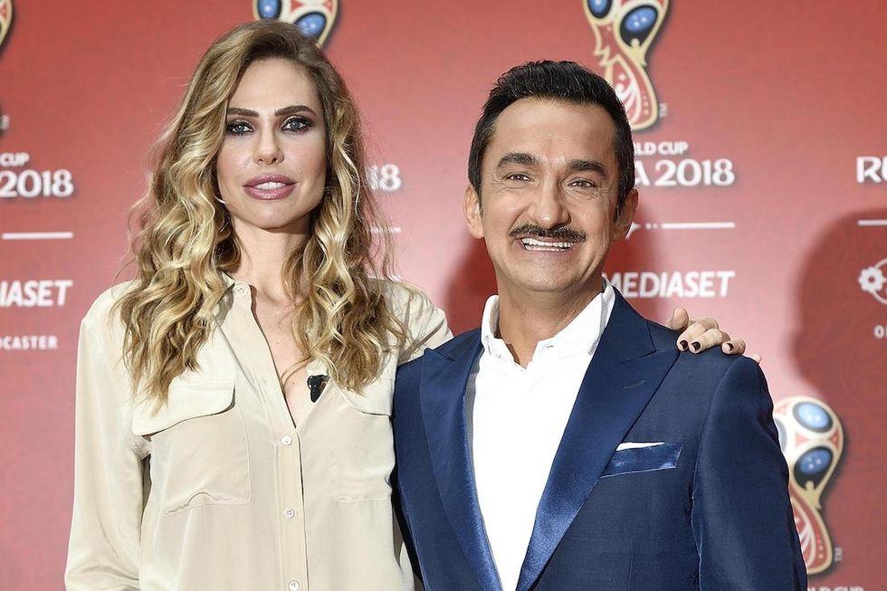Russia 2018 Ilary Blasi e Nicola Savino