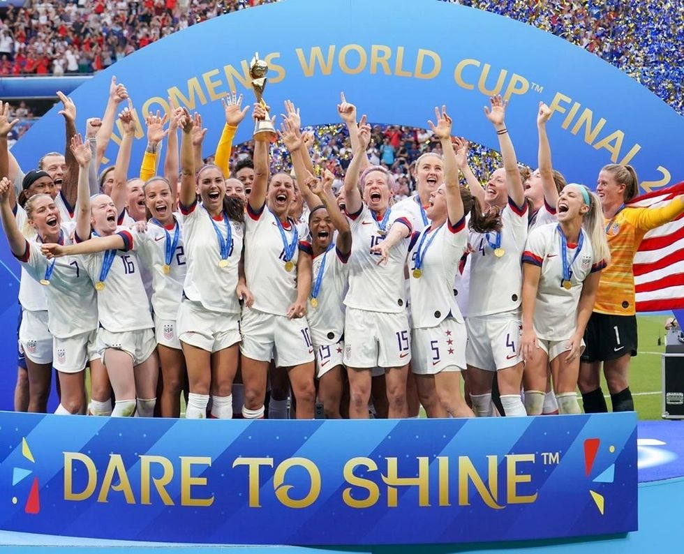 The United States Women's Soccer Team Is Paving The Way For Women's Rights, One Kick At A Time