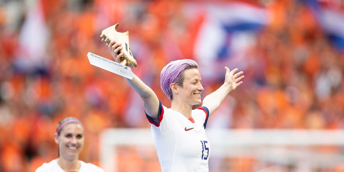 Megan Rapinoe Celebrates With Nipsey Hussle Tribute