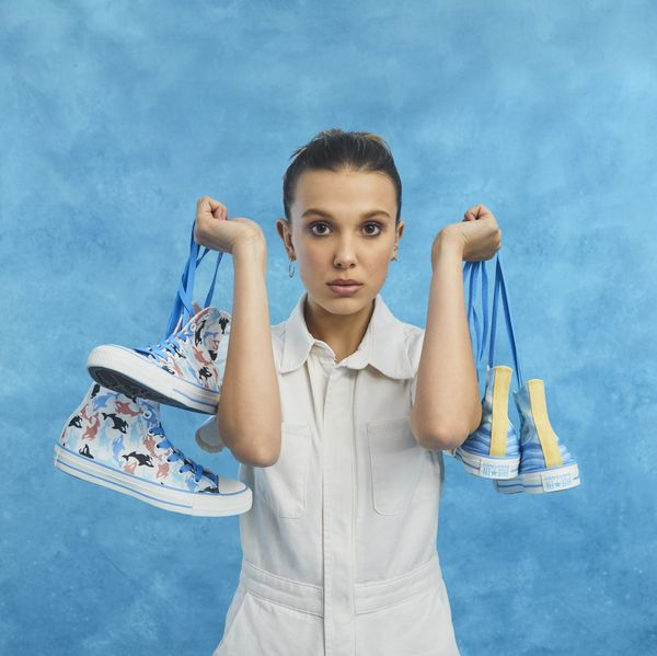 Millie Bobby Brown Teams With Converse